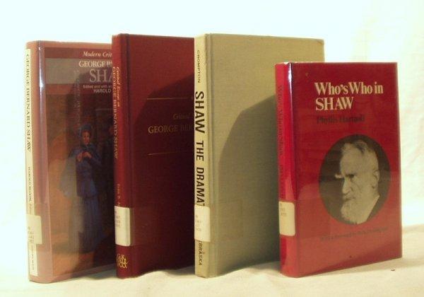 7020: 4V GEORGE BERNARD SHAW CIRITICISM Bloom Crompton