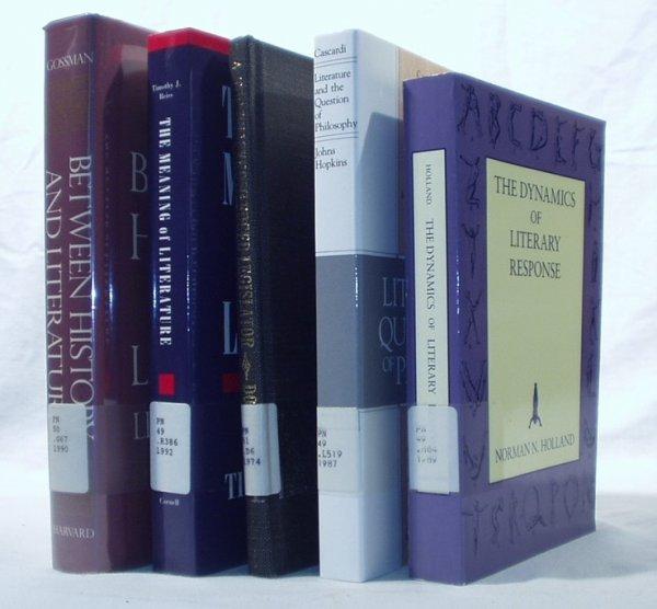7022: 5V LITERATURE CRITICISM Gossman Holland Reiss
