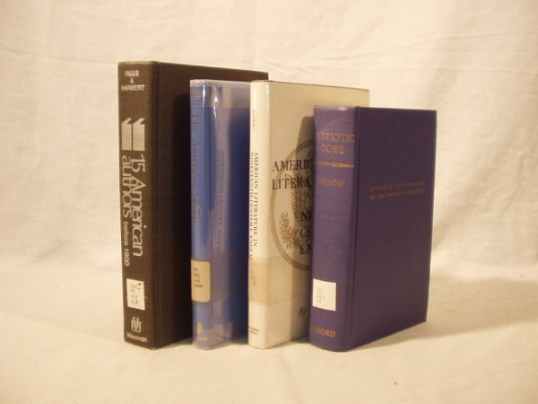 8006: 4V AMERICAN LITERARY HISTORY Wilson Gohdes Rees