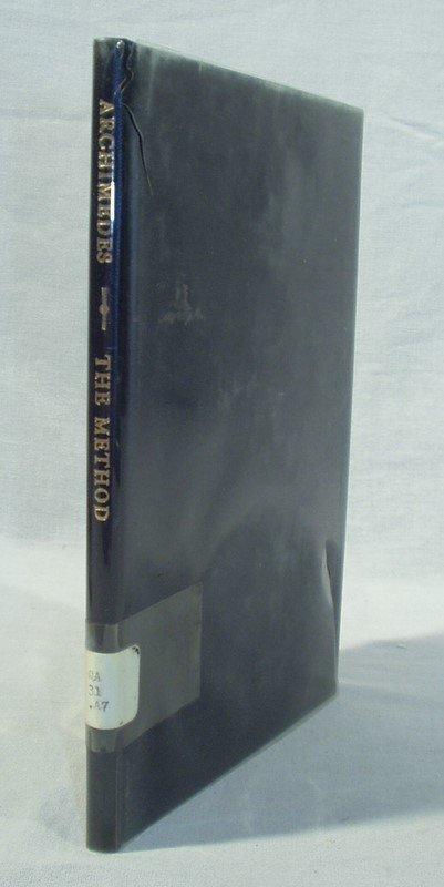 8007: Heath METHOD OF ARCHIMEDES 1912 1st Ed Heiberg Ge