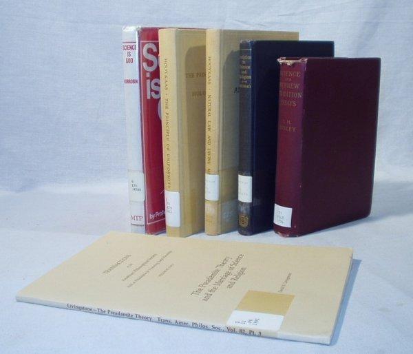 8008: 6V SCEINCE & THEOLOGY Hooykaas Huxley Livingstone