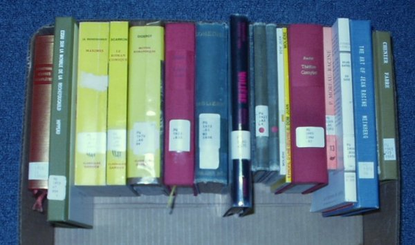 8011: Maximes Hippeau FRENCH LITERATURE Comedies Racine