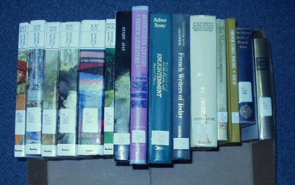 8023: Torrey Vercier FRENCH LITERATURE Poetry Giese