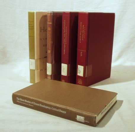 8043: 5V HEMINGWAY BIBLIOGRAPHY/REFERENCE Benson Larson