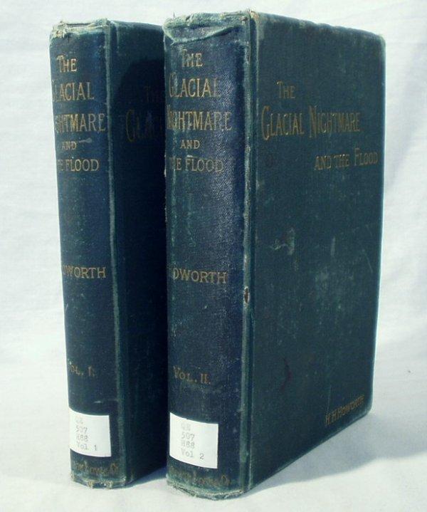 8503: 2V Howorth GLACIAL NIGHTMARE FLOOD 1893 1st Ed Ge