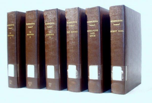 8518: 6V NORROENA Ltd Ed HISTORY NORTHERN EUROPE 1906