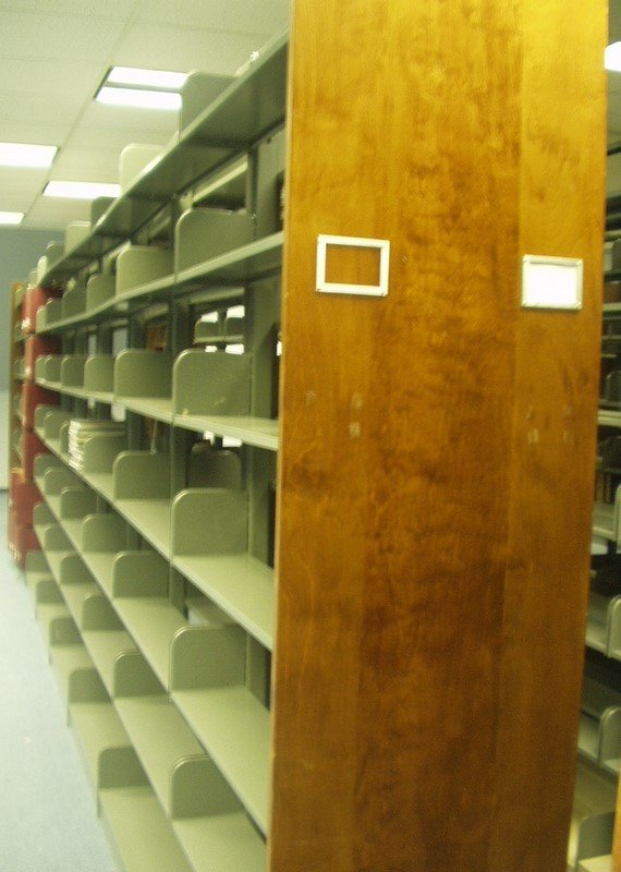 9007: Commercial LIBRARY SHELVING Steel Sturdy