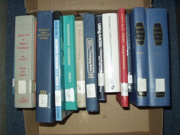 9009: Classification LIBRARY REFERENCE Cataloging Index