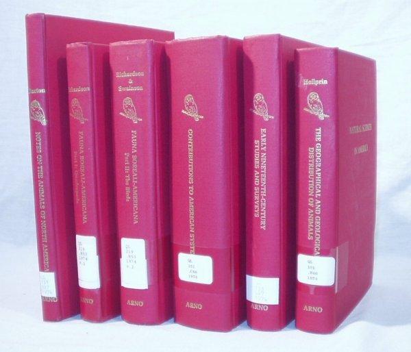 9016: 6V ZOOLOGY Fauna Distribution Re-prints 1800s