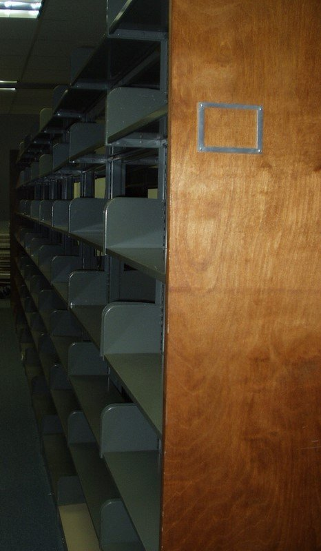 9023: Commercial LIBRARY SHELVING Steel Sturdy