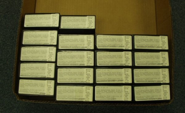 9521: Microfilm - Fire Insurance Maps of Texas