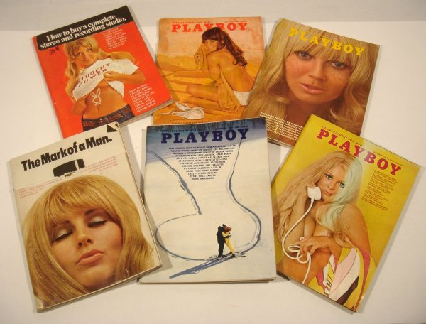 5051: 12 Issues 1969 PLAYBOY Magazine Centerfolds