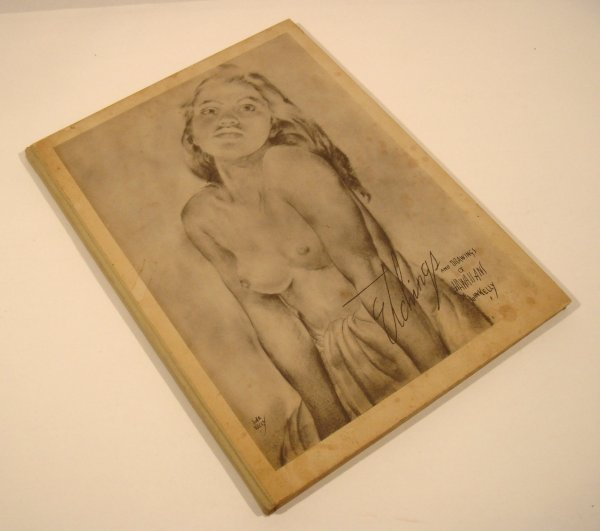 5298: John Kelly ETCHINGS DRAWINGS HAWAIIANS 1943 Hawai