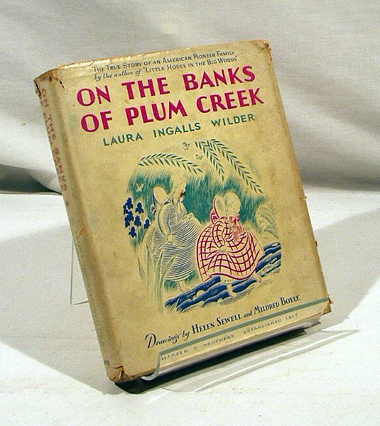 6001: Wilder BANKS PLUM CREEK 1937 Stated 1stEd Ingalls