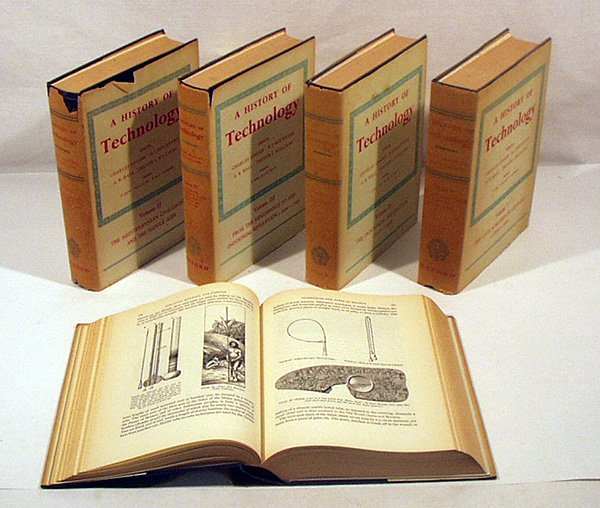 6038: 5V HISTORY OF TECHNOLOGY Complete Oxford 1957