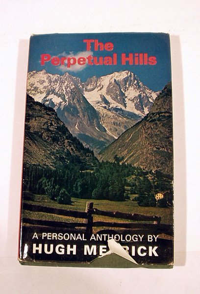 6052: SIGNED Merrick PERPETUAL HILLS Mountains 1964