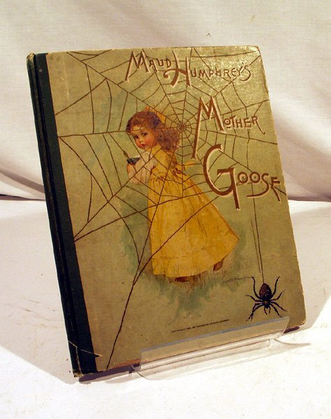 8009: Maud Humphrey MOTHER GOOSE 1891 First Ed. Lithos
