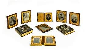 9Pcs Collectible Memorabilia ANTIQUE DAGUERROTYPES IN