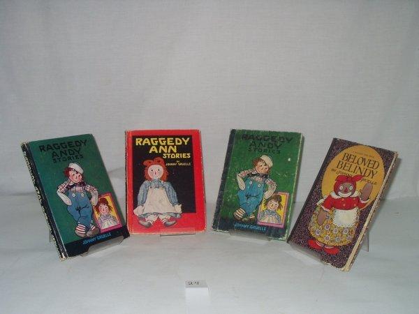 1024: 4V Gruelle RAGGEDY ANN ANDY 1926-1948 1st Ed