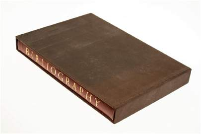 BIBLIOGRAPHY OF THE FINE BOOKS PUBLISHED BY THE LIMITED