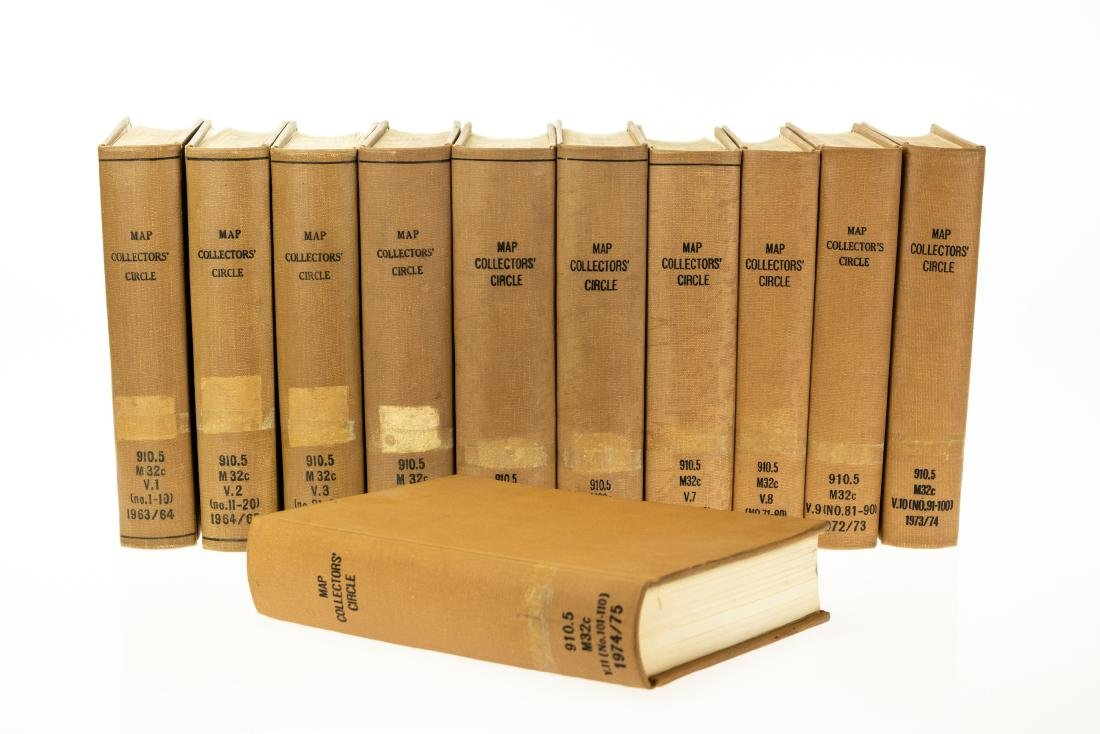 11V Ronald Vere Tooley MAP COLLECTORS CIRCLE BOUND