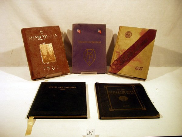 2134: Rome Hamilton ANTIQUE NY YEARBOOKS Agriculture