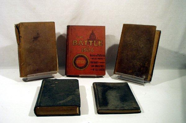 2139: 5V Senator Health Officer HISTORY Battle of 1900