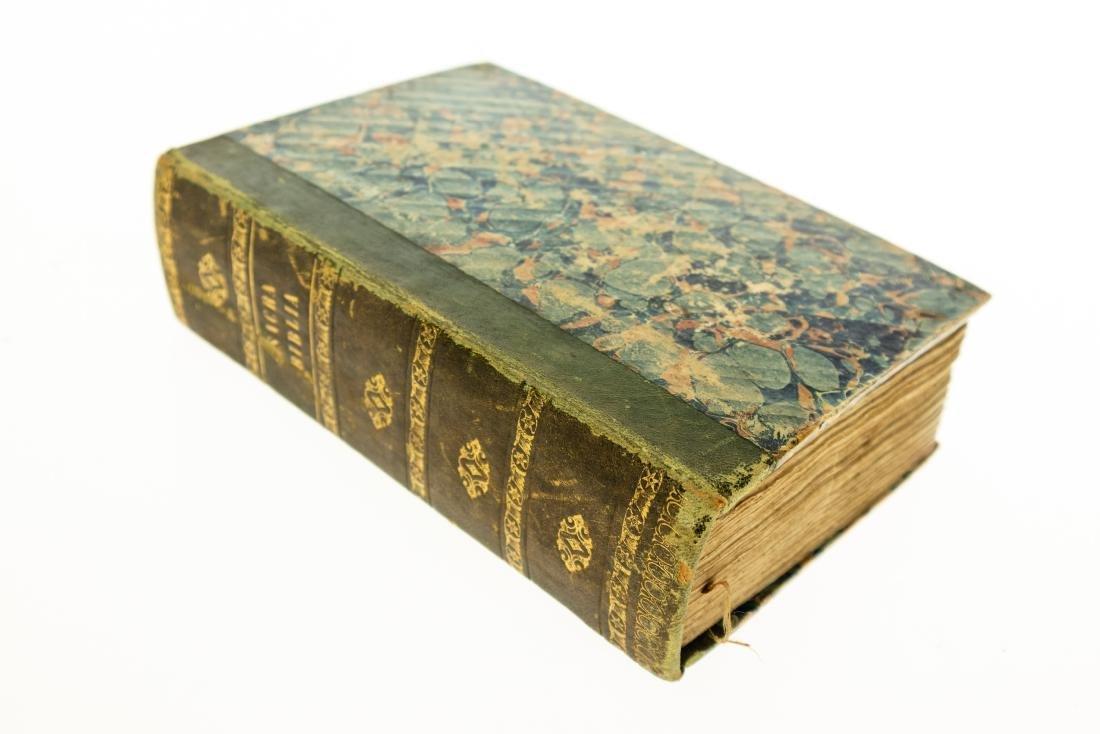 BIBLIA SACRA VULGATE 1648 Decorative Leather Gilt