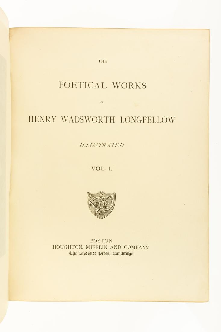 2V Henry Wadsworth Longfellow THE POETICAL WORKS OF - 2