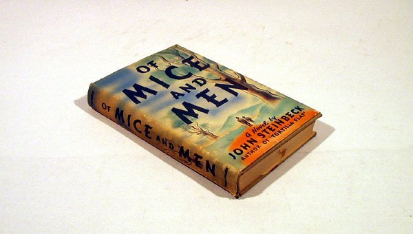 3025: Steinbeck MICE MEN 1st Ed 2nd State w. Dustjacket