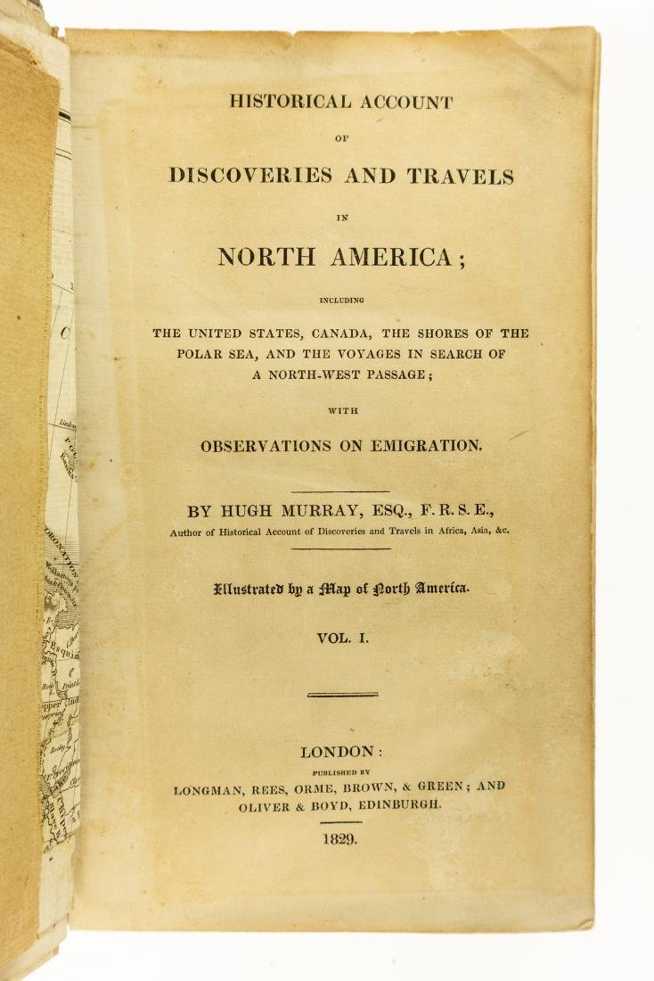 2V Hugh Murray HISTORICAL ACCOUNT OF DISCOVERIES AND - 2