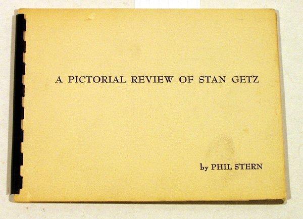 4008: Stern PICTORIAL REVIEW STAN GETZ Photos Saxophone