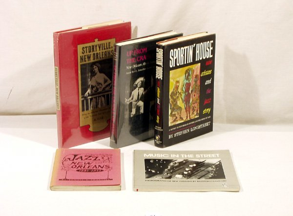 4021: 5V New Orleans HISTORY Storyville Red-Light Jazz