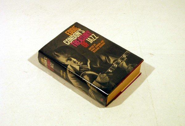 4336: SIGNED Condon TREASURY OF JAZZ 1956 Gehman Dial