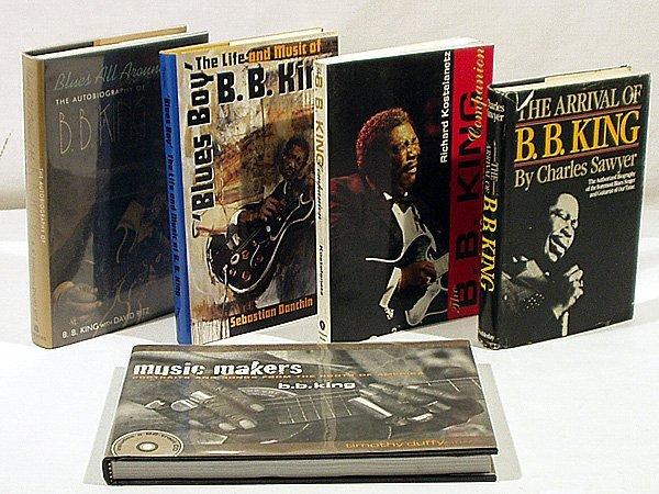 4357: 5V Blues Singer B.B. KING Biography Vocalist