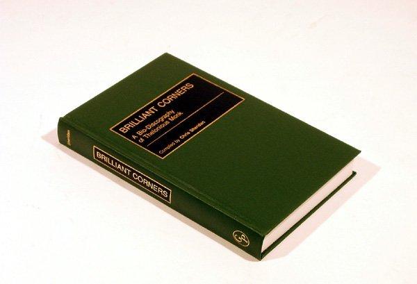 4358: Sheridan BRILLIANT CORNERS 2001 Bebop Composer