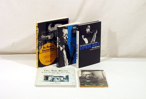 4364: 5V JAZZ MUSICIANS Coleman Dorsey Rollins Russell