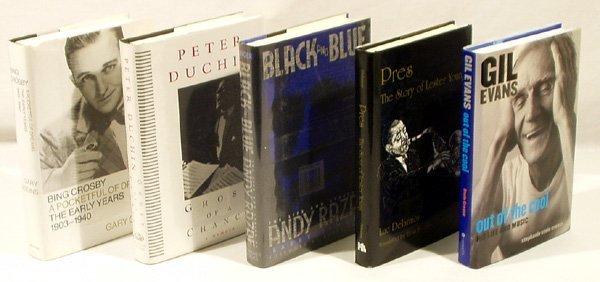 4367: 5V Gil Evans BIOGRAPHY Bing Crosby Andy Razaf
