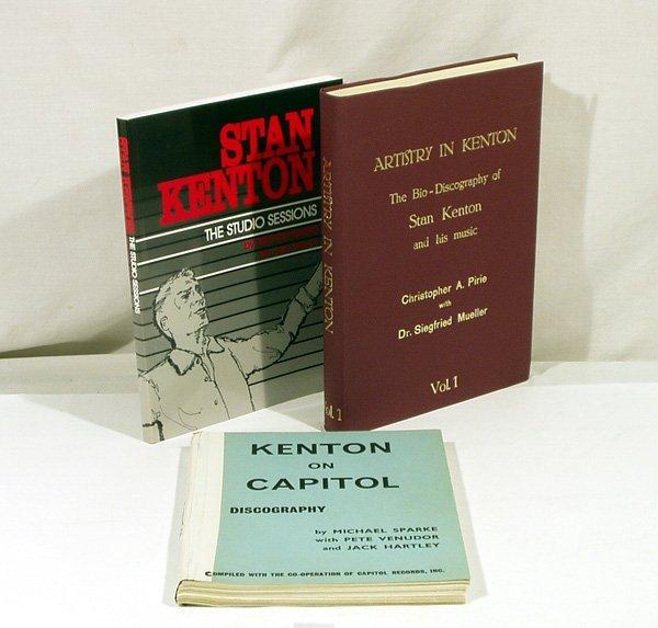 4717: 3V Sparke STAN KENTON DISCOGRAPHY Capitol Artistr