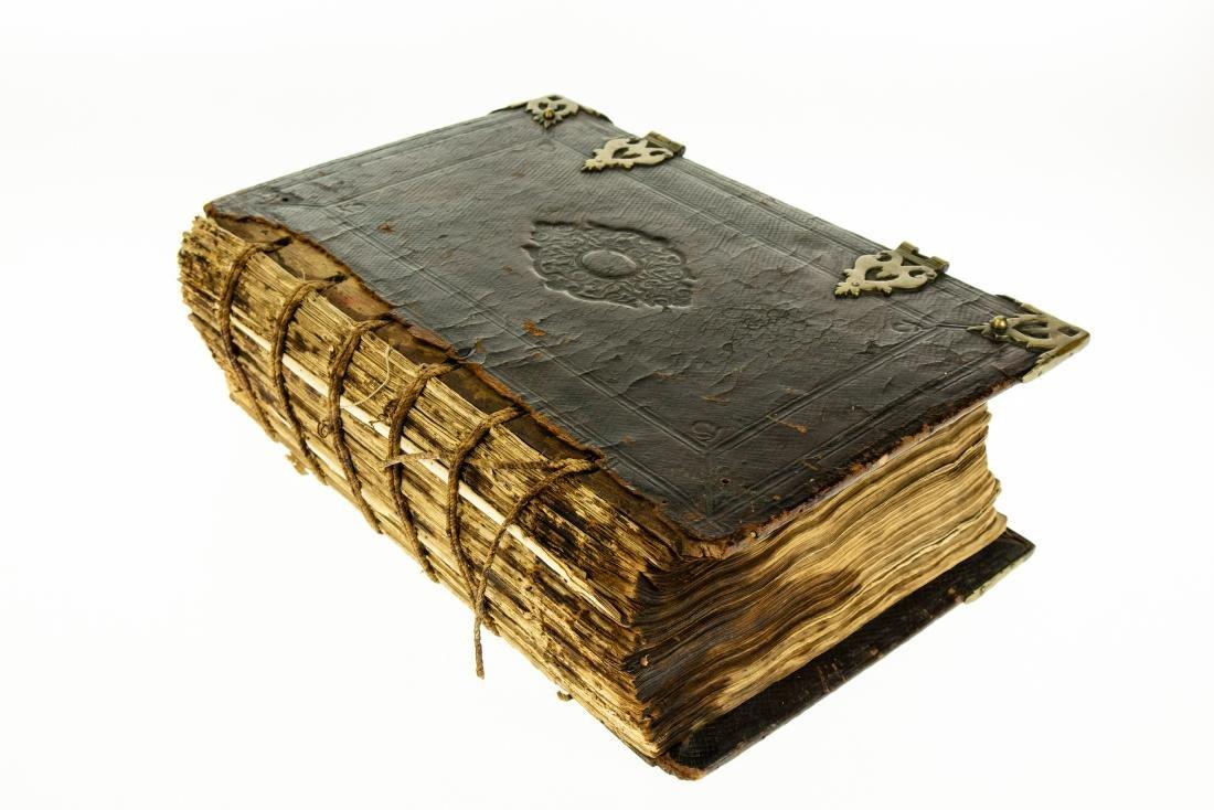 Antique Dutch Bible BIBLIA DES OUDEN EN DES NIEUWEN