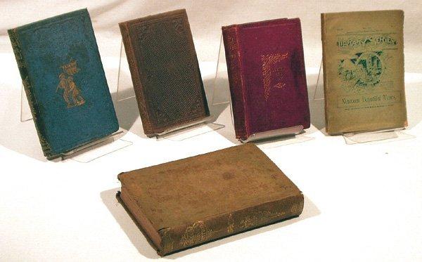 6018: 5V Temperance ANTIQUE CHILDREN'S LITERATURE 1800s