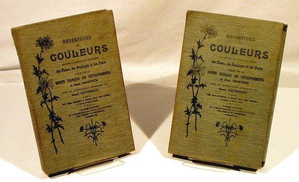 6029: 2V Dauthenay REPERTOIRE DE COULEURS 1905 Flowers