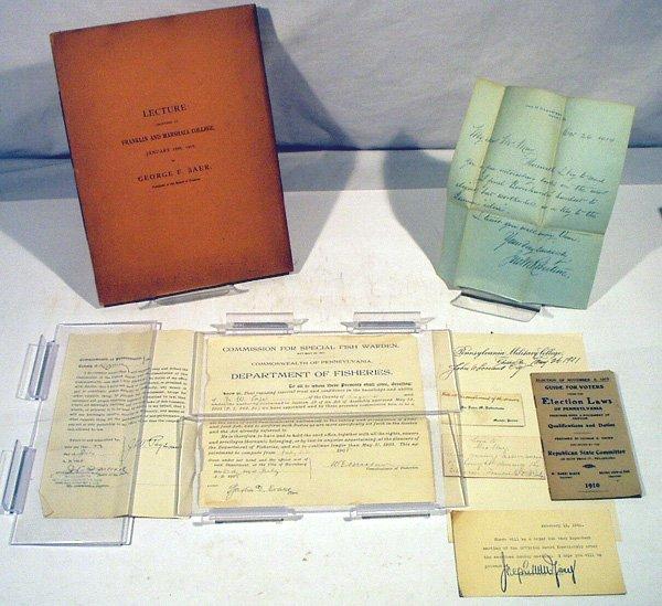 8006: Lecture NORTHEAST PENNSYLVANIA EPHEMERA Contracts