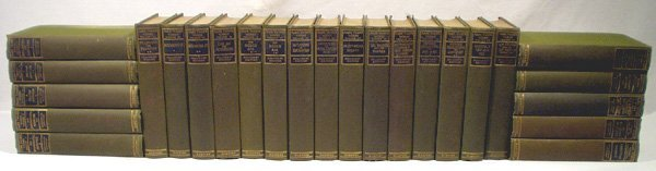 9007: 25V WRITINGS OF MARK TWAIN 1904 Complete Early Se