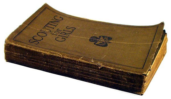 9014: SCOUTING FOR GIRLS 1920 Girl Scouts Stated 1st Ed