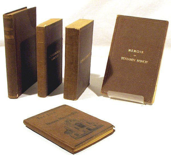 1010: 5V 1800s Antique QUAKER BIOGRAPHY Convincement