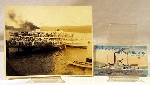 1023: MT. WASHINGTON II Steamships Lake Winnipesaukee N