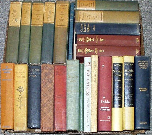 3013: Faulkner Shaw LITERATURE Wharton Strange Boileau
