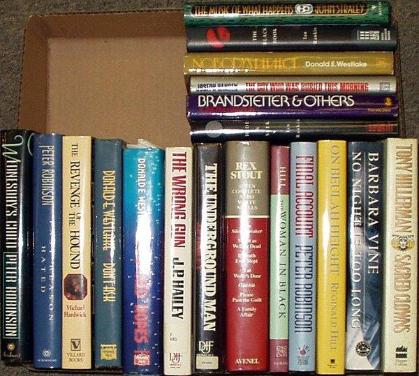 3016: Hillerman Vine Robinson LITERATURE Rankin Stout