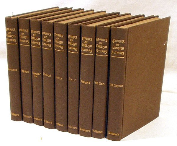 3034: 9V STORIES BY ENGLISH AUTHORS 1903 Africa Ireland